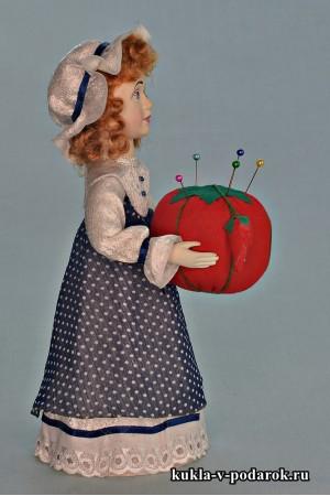 Кукла игольница ручной работы