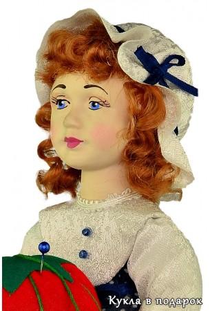 Для девочек подарок кукла игольница