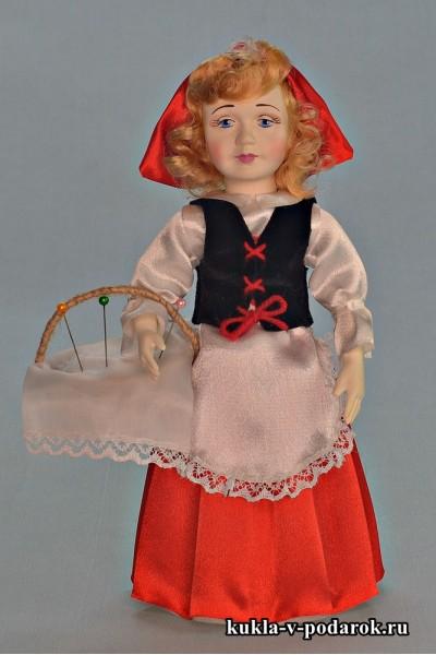 Приятный подарок игольница Красная Шапочка