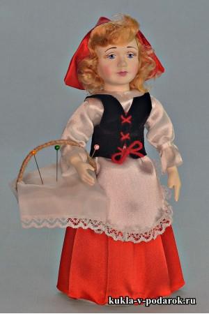 Кукла Красная Шапочка в подарок