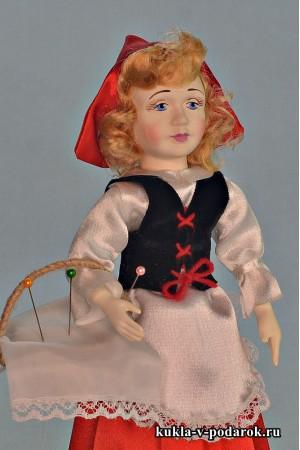 Красная Шапочка авторская кукла