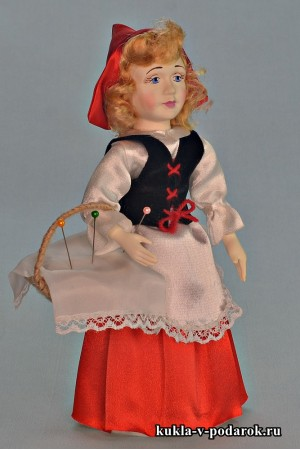 Кукла Красная Шапочка ручной работы