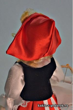 Красная Шапочка красивая кукла