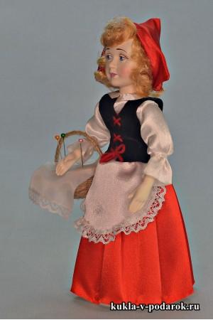 Красная Шапочка с лукошком