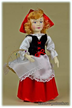 Кукла Красная Шапочка приятный подарок