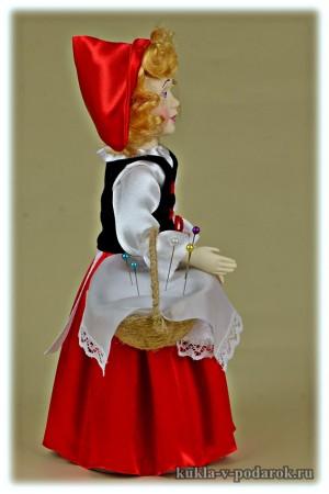 Сувенир из сказки Красная Шапочка кукла