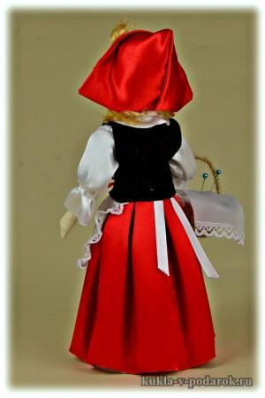 Сказочная Красная Шапочка кукла ручная работа