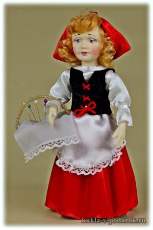 Недорогой подарок Красная Шапочка кукла