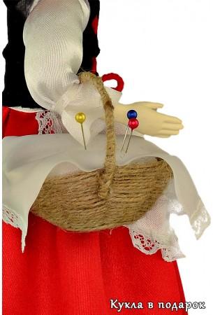 Корзина и детали одежды куклы Красная Шапочка