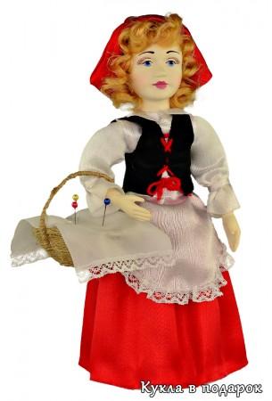Сказочный персонаж кукла Красная Шапочка