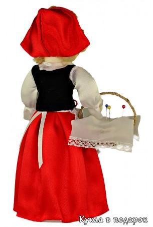 Русский подарок кукла Красная Шапочка