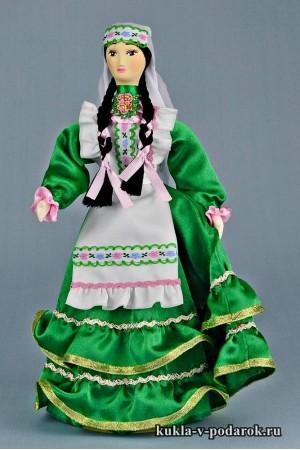 фото татарская кукла из фарфора