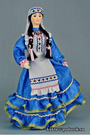фото татарская кукла в народном костюме