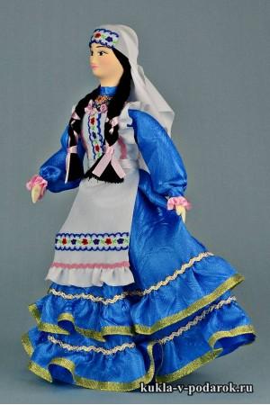 фото татарская кукла в национальном костюме