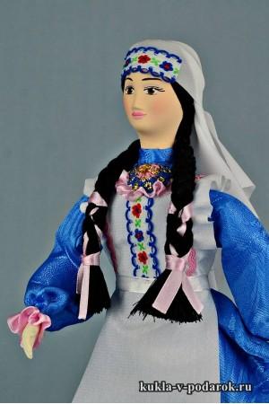 фото татарская кукла рукодельный сувенир