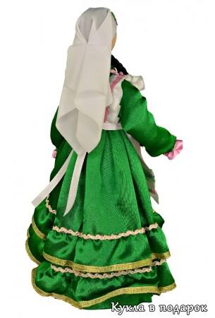 Кукла татарская женщина в белоснежной накидке