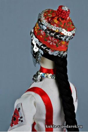 Чувашская кукла сделано в России Москва
