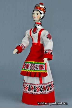 Чувашская кукла рукодельное изделие