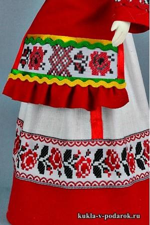 Чувашская кукла детали одежды