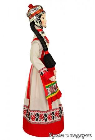 Кукла в традиционной чувашской женской одежде