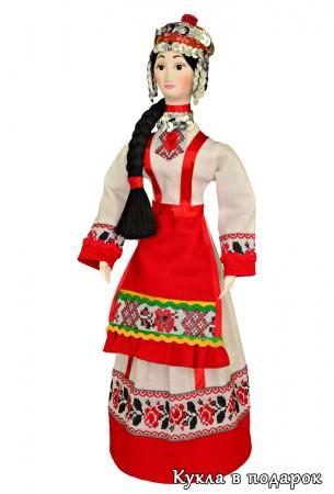Исторически достоверный костюм чувашки