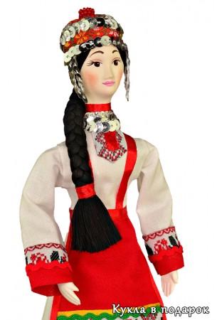 Одежда чувашей Кукла ручной работы