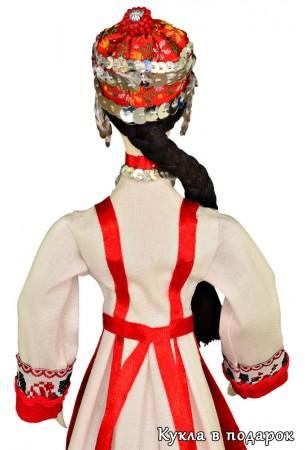 Подарок из Москвы для Чувашии авторская кукла