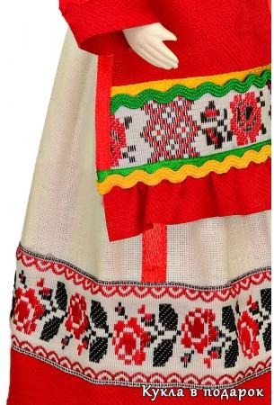 Детали одежды чувашской куклы