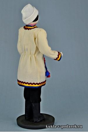 Мариец в национальном костюме сделано в России Москва