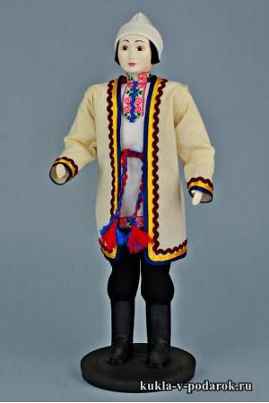 Мариец в национальном костюме подарок Марий Эл