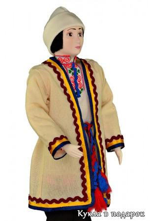 Кукла подарок в марийской национальной одежде