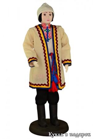 Кукла в марийском костюме ручная работа