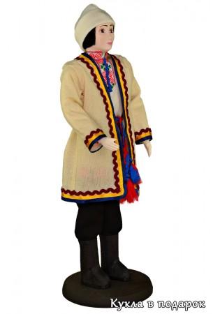 Авторская кукла в марийской народной одежде
