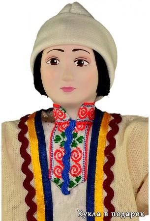 Фарфоровая кукла мужчина Марий Эл