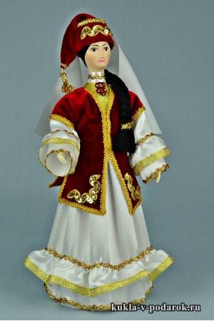 кукла в татарском костюме в подарок