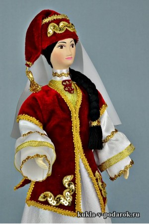 кукла в татарском костюме авторская работа