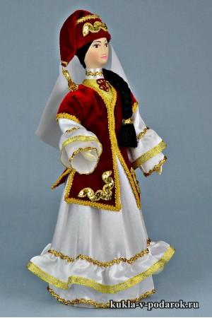 кукла в татарском костюме ручная работа