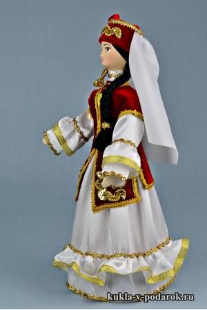 кукла в татарском костюме уникальный подарок