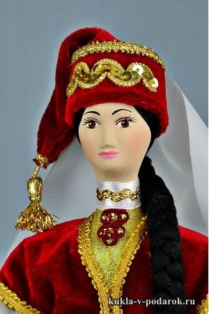кукла в татарском костюме красивый подарок