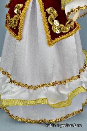 кукла в татарском костюме детали одежды