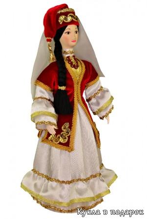 Кукла в татарском народном женском костюме