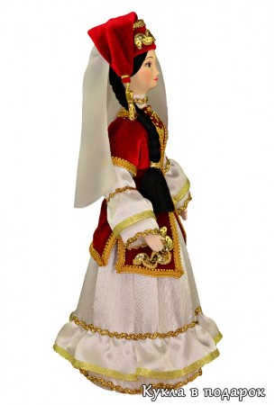 Подарок на татарский праздник Сабантуй кукла ручной работы