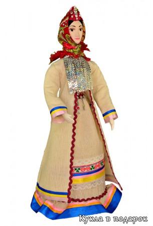 Марийский национальный костюм женщины