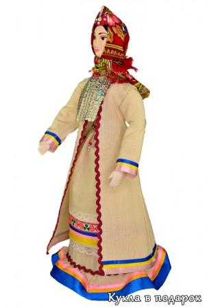 Недорогой марийский подарок кукла из Москвы