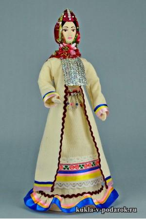 Марийская кукла в подарок