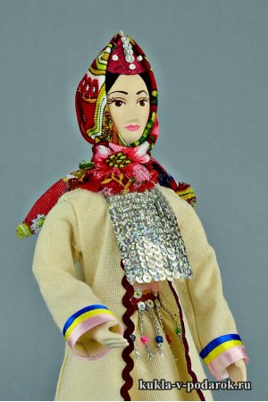 Марийская кукла ручная работа