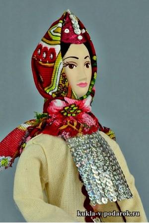 Марийская кукла сделано в России Москва