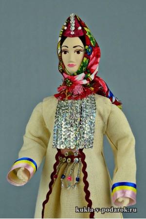 Марийская кукла неповторимый подарок
