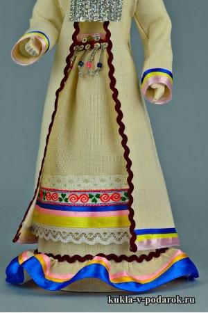 Марийская кукла детали одежды