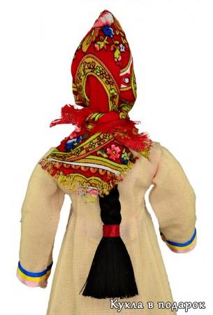 Традиции Марий Эл кукла с косой и в платке